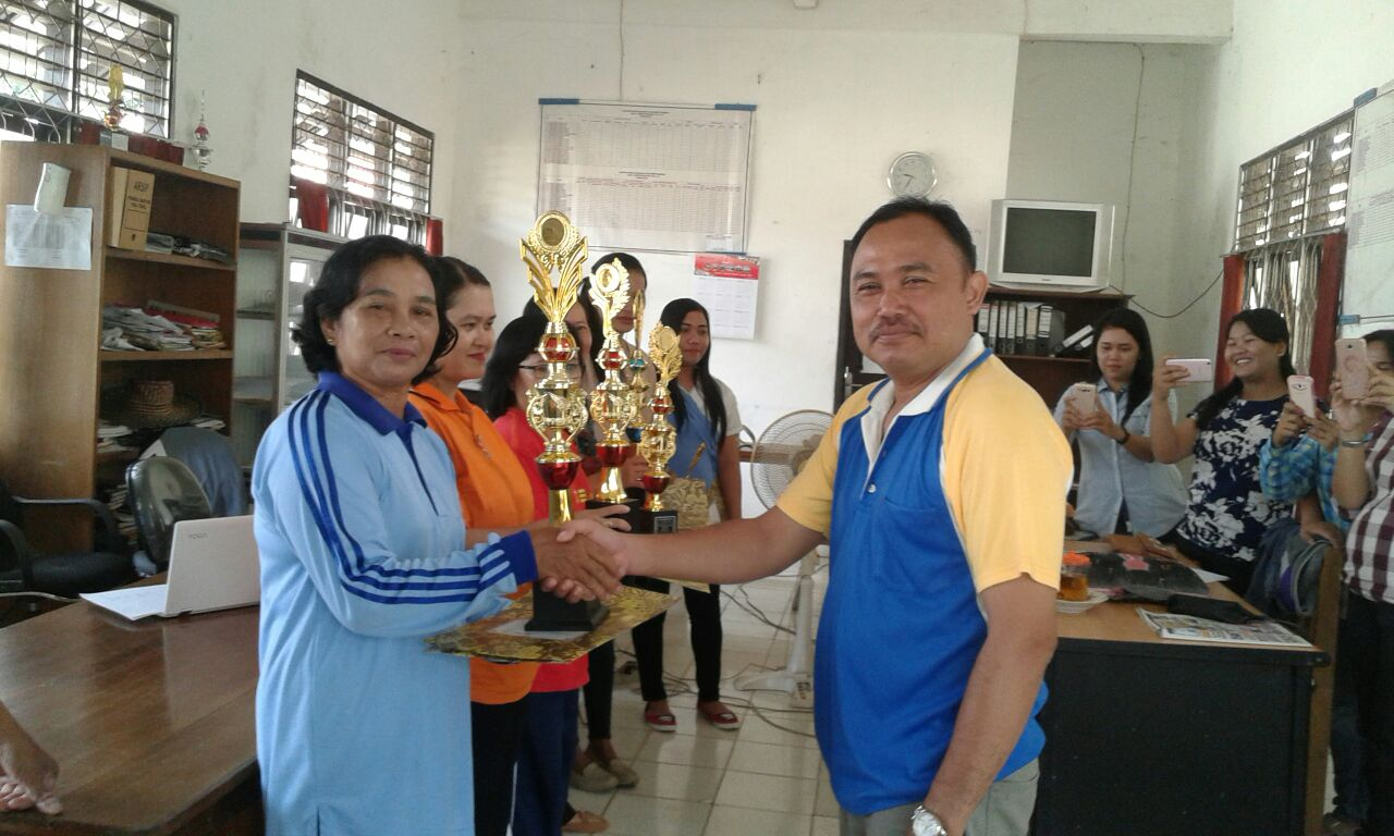 Juara 1 Lomba Perpustakaan Tingkat SLTA Se-Bartim