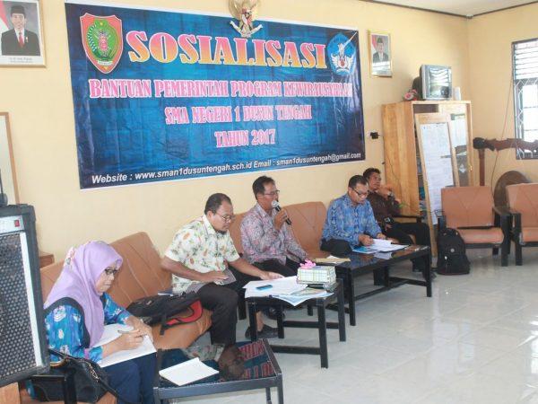 Sosialisasi Bantuan Pemerintah Program Kewirausahaan Tahun 2017