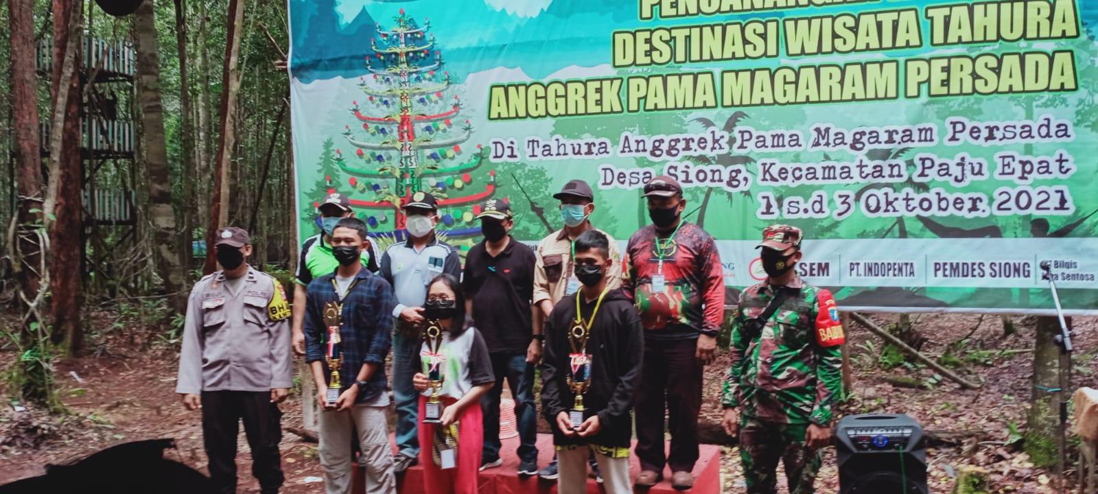Juara Umum Festival Hammock II Kabupaten Barito Timur